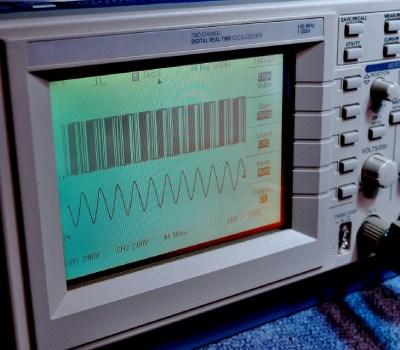オシロスコープ波形