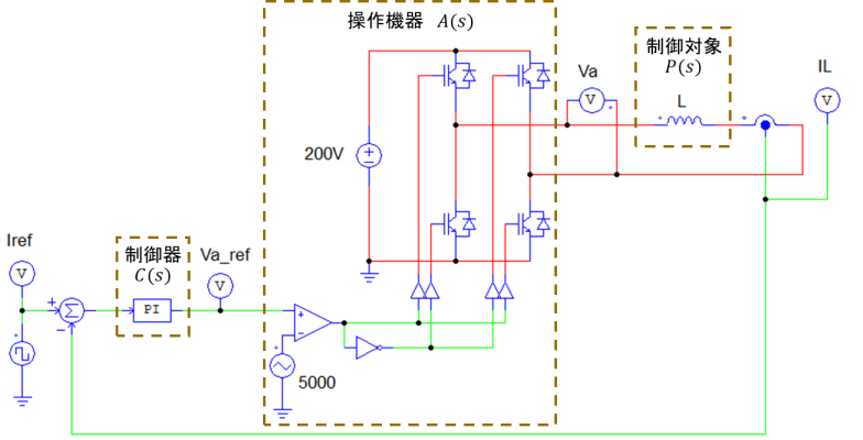 電流制御シミュレーション回路