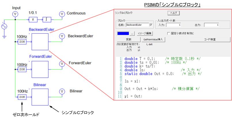 PSIMシミュレーション回路図